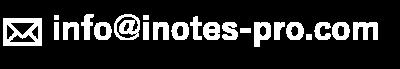 info@inotes-pro.com